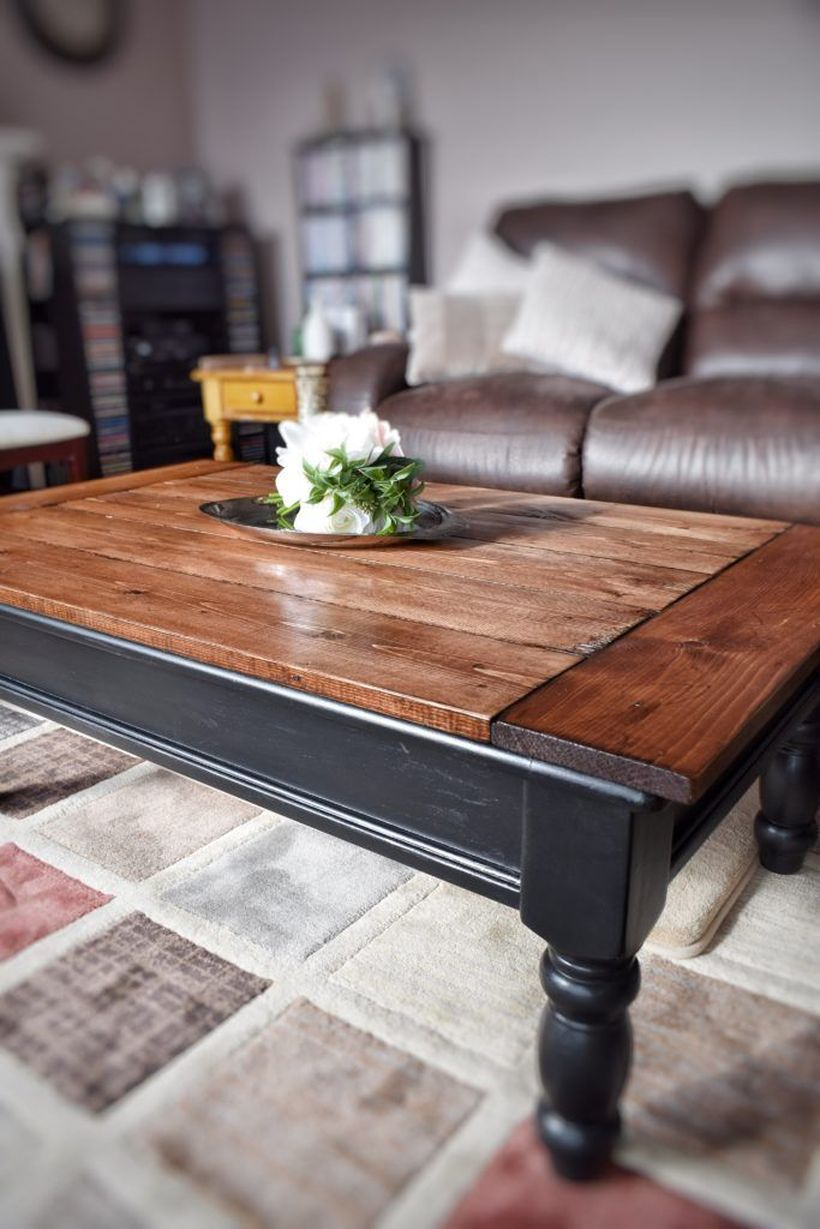 Classic wooden coffee table