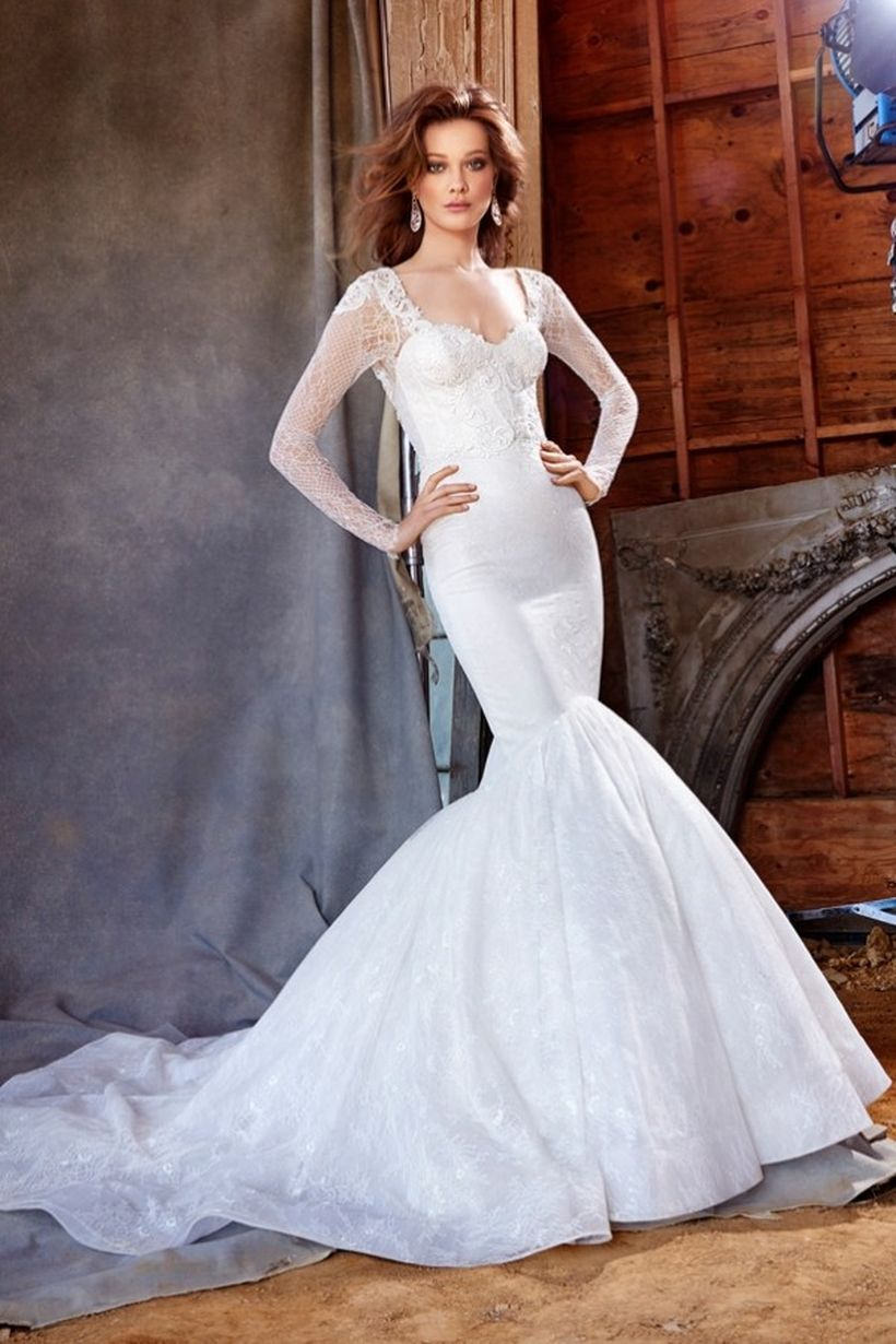 Fancy fishtail wedding dresses for your once in a lifetime moment