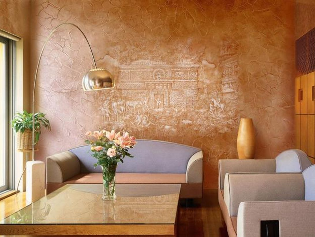 Inspiere wall painting a subtle statement for your living room you can try