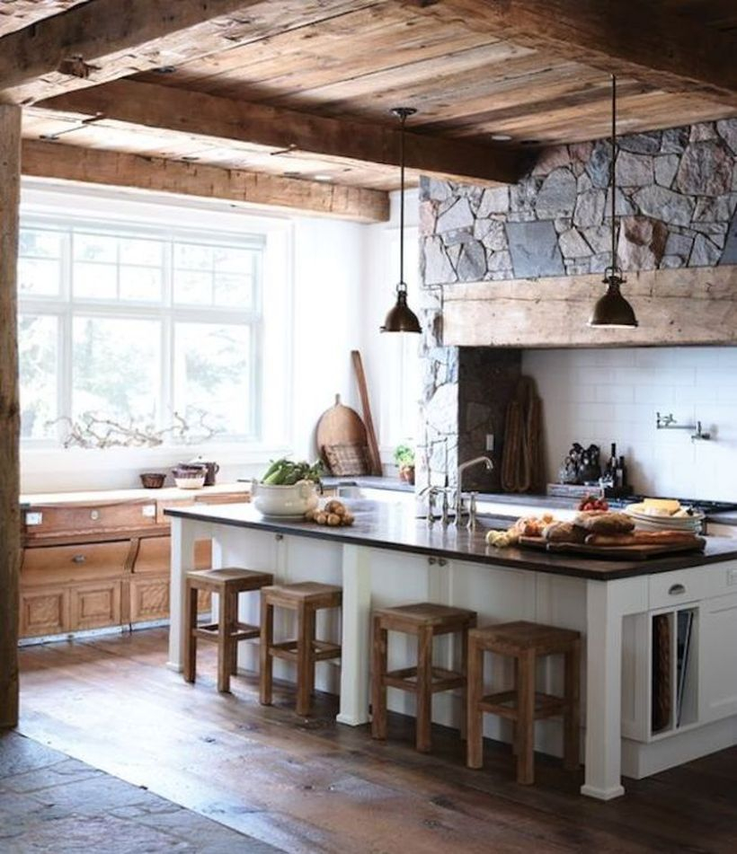 Rustic countertop design