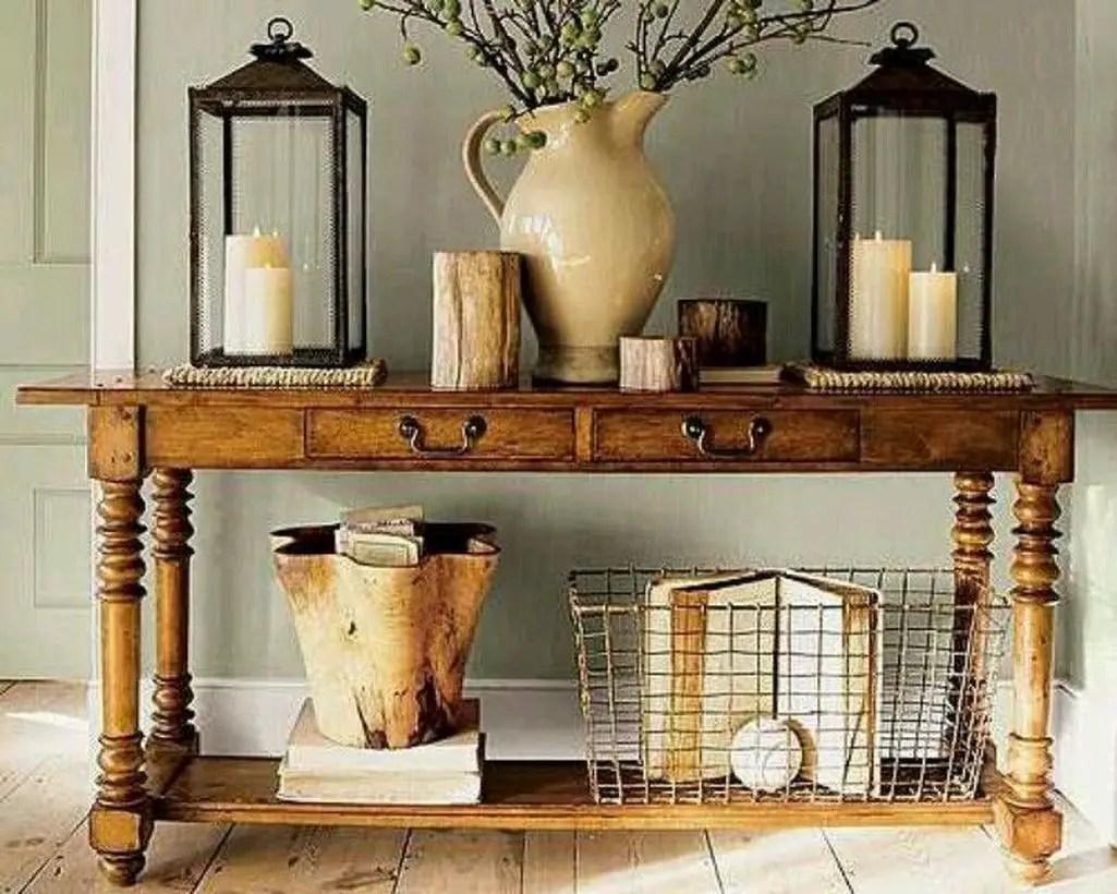 Rustic iron basket