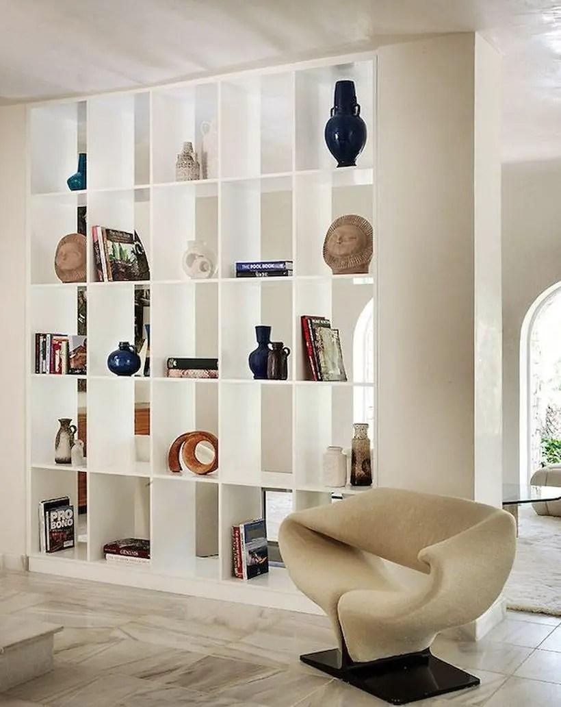 White bookshelves ideas