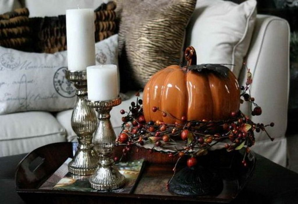 Top 10 Fall Coffee Table Decoration Ideas