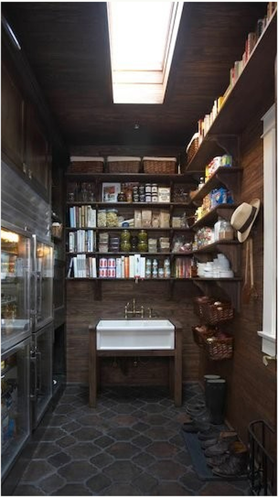 Rustic kitchen pantry ideas