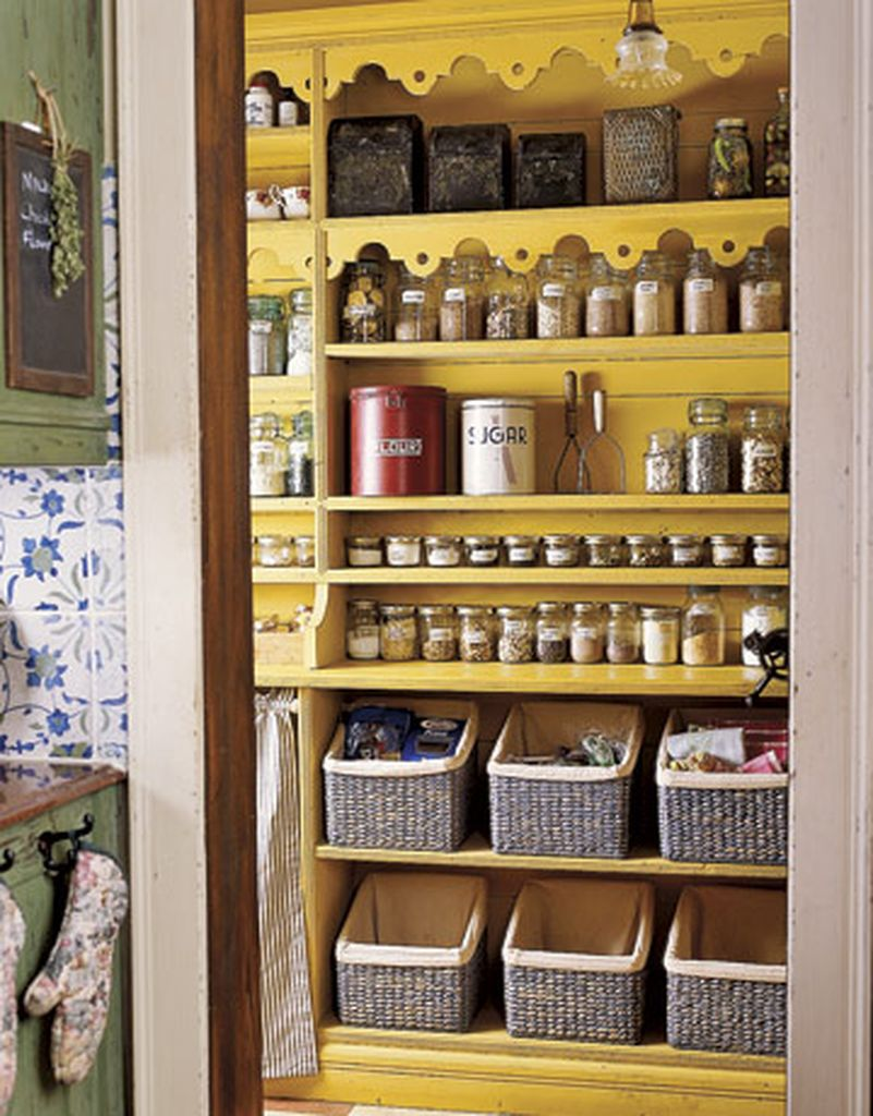 Wooden rack for pantry to store your food