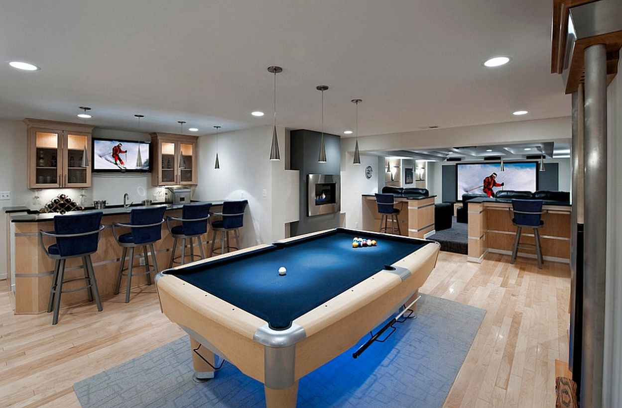31 Best Ways to Make Use Your Basement into Well Decorated Room