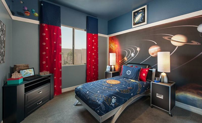 Planet-murals-and-monochrome-walls-for-kids-room.