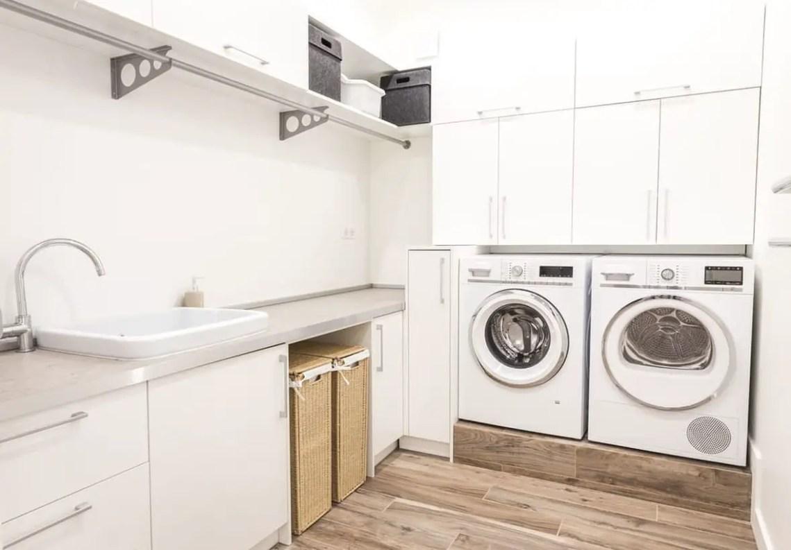 White laundry room ideas