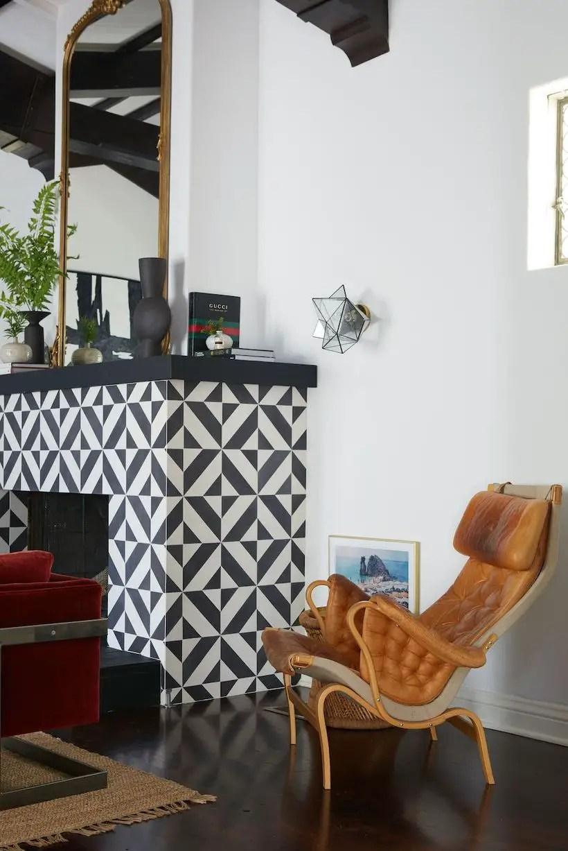 Brown-unique-pattern-chair
