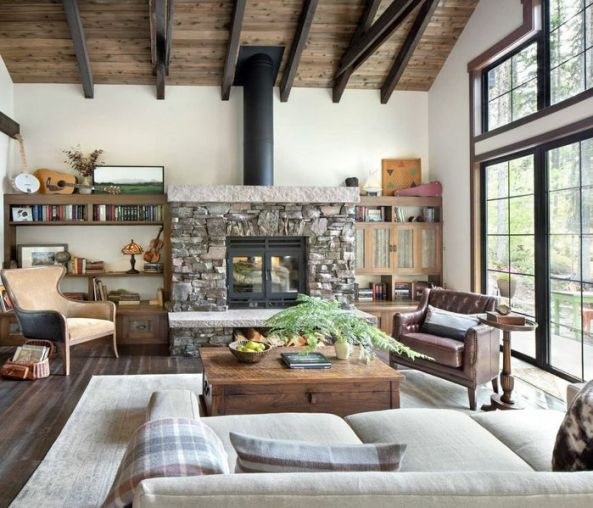 18-best-popular-modern-rustic-living-room-design-ideas