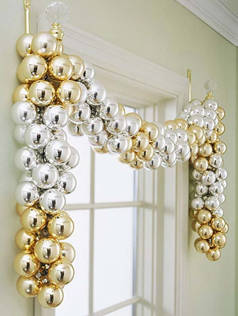 White and gold lamps decoration ideas