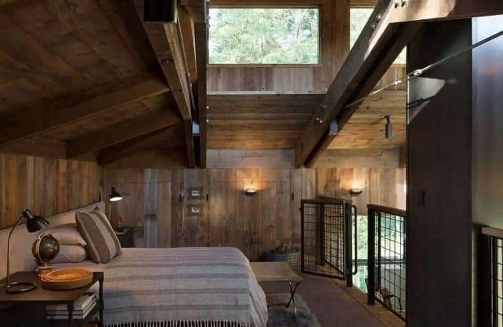 Rustic bedroom tyle