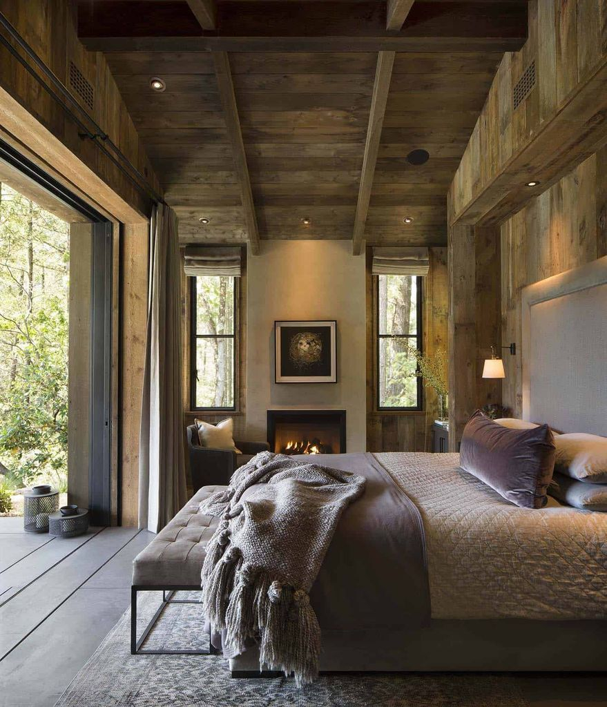 Rustic-style-bedroom 7