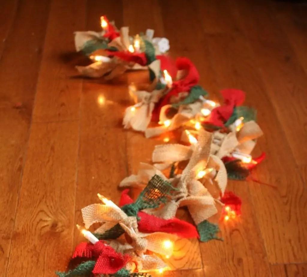 Diy-christmas-decorations-blue-lights