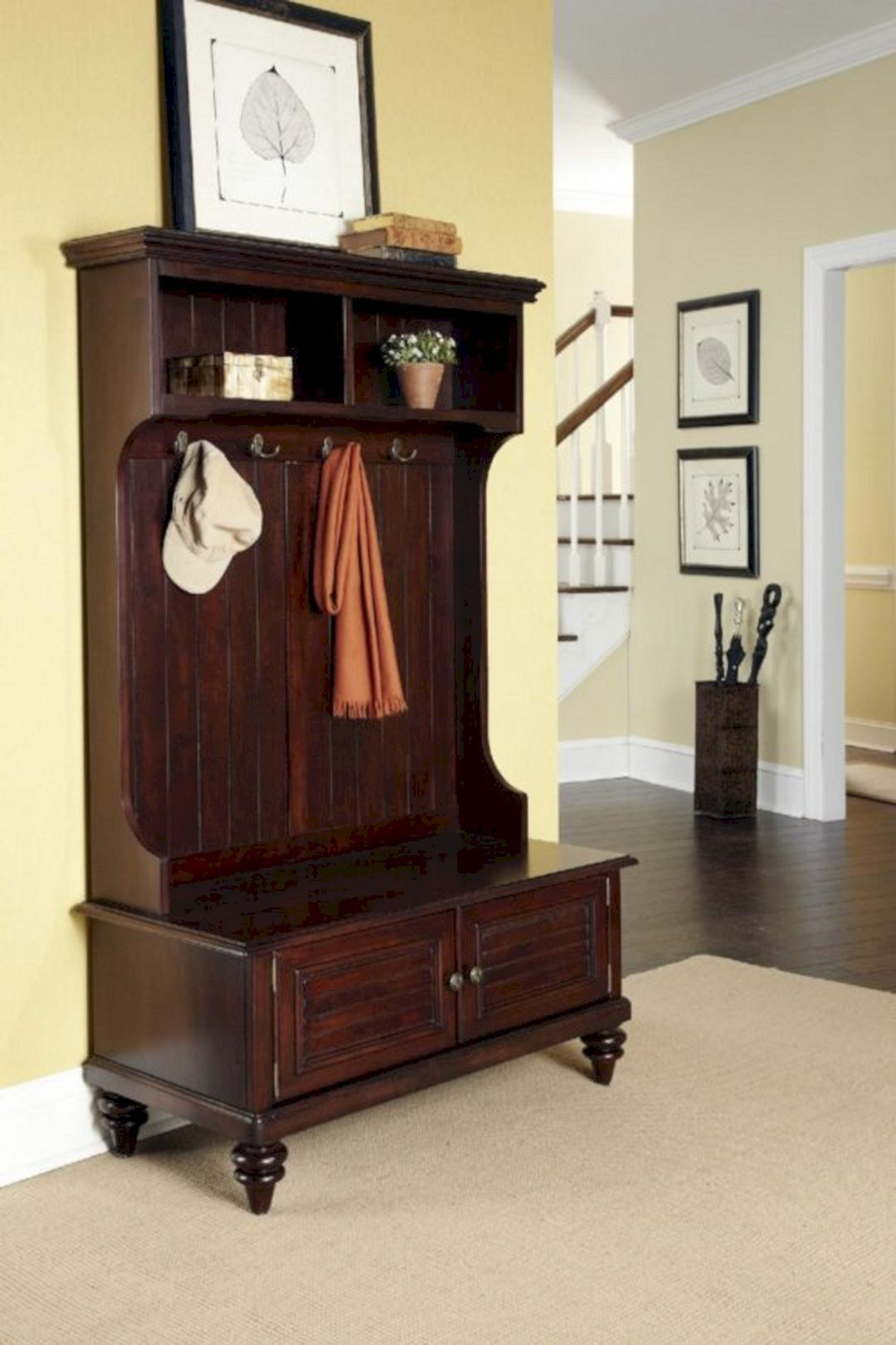 Hall-tree-storage-bench-furniture-1