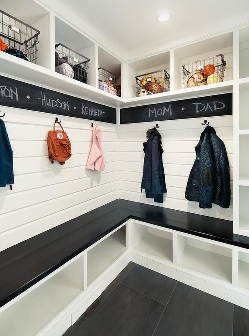 Mudroom-chalkboard-paint-wall-border