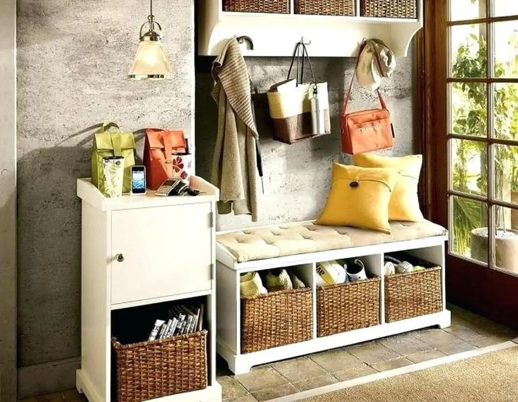 Narrow-hall-tree-storage-bench-small-shoe-for-hallway-decor