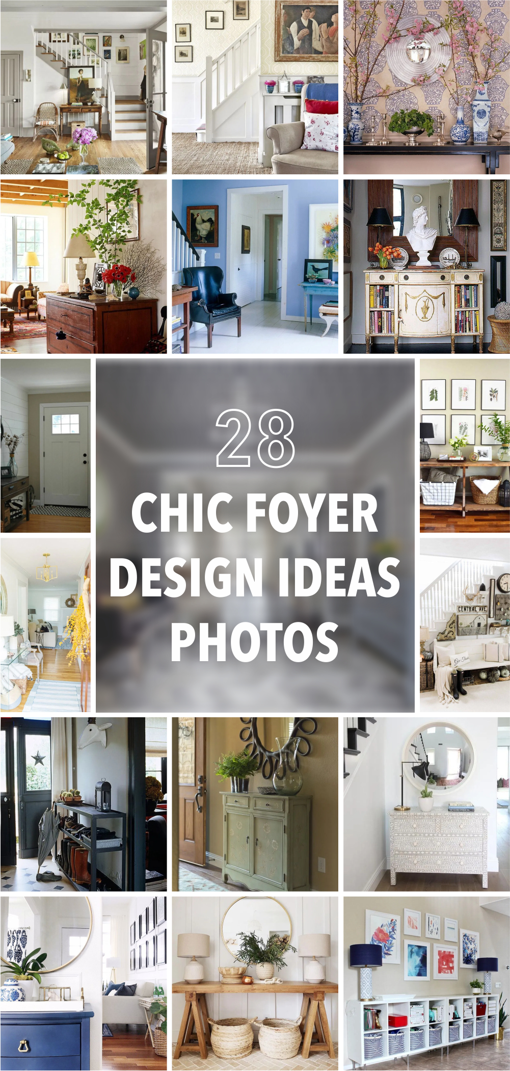 28 chic foyer design ideas photos 1