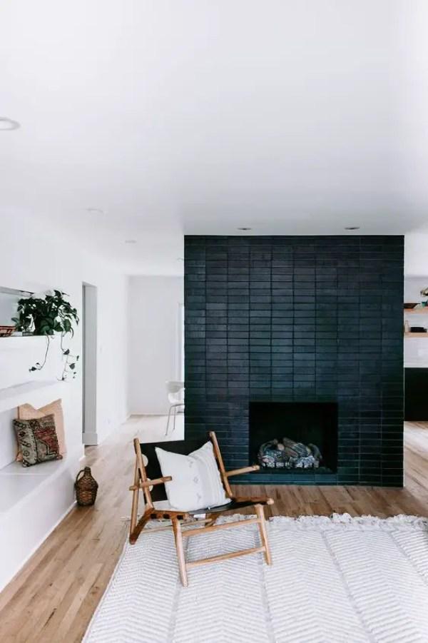 2-black-brick-wall-fireplace-ideas-1