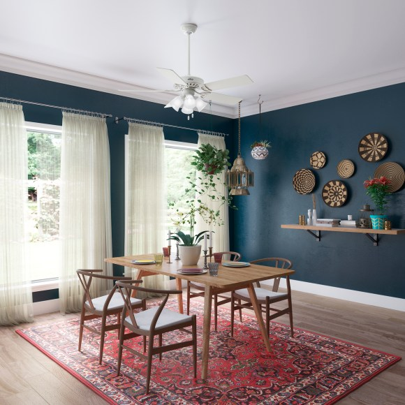 3-hunter-white-ceiling-fan-with-lights-in-modern-bohemian-dining-room-1