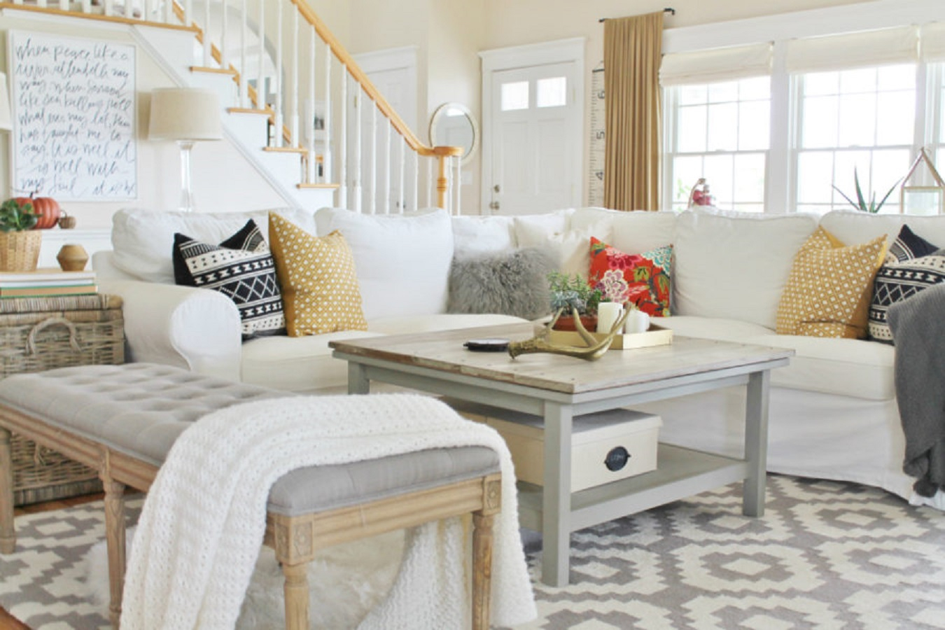 Grey living room Picturesque Autumn Living Room Ideas To Get Your Mind Fresh In Time