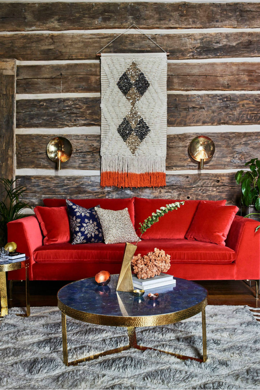 Jewel tone deep color living room Picturesque Autumn Living Room Ideas To Get Your Mind Fresh In Time