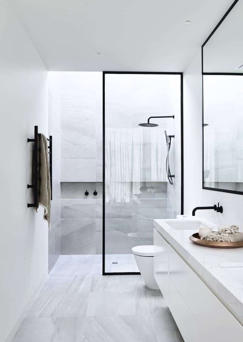 White featuring modern Charismatic Bathroom Design Ideas To Hypnotize Everyone In Your Home