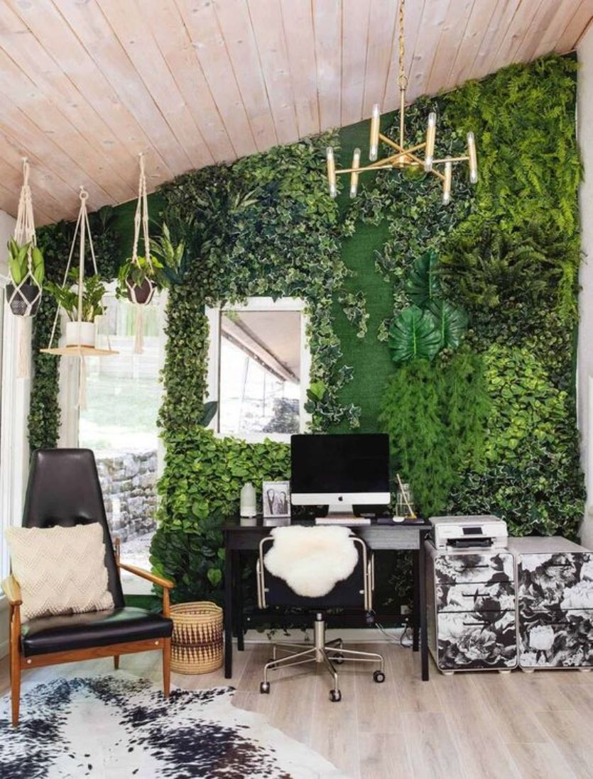 Biophilic home office