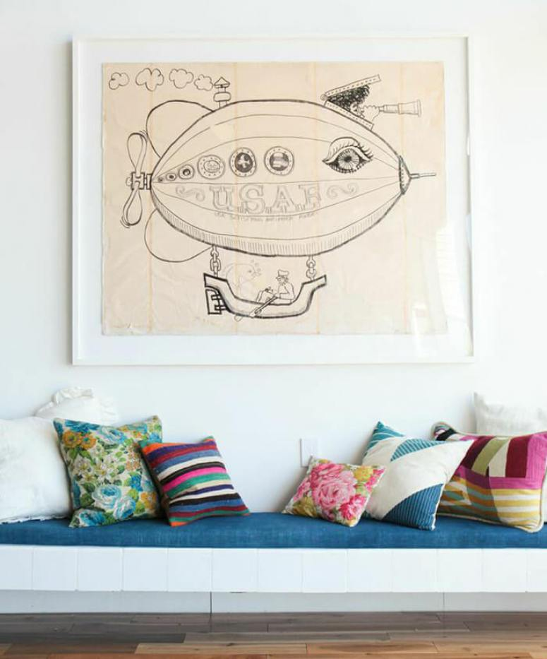 Pillows_-bench-midcentury-modern-emily-henderson_blue-pink-floral-green-white1