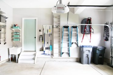 House-wall-of-organized-garage