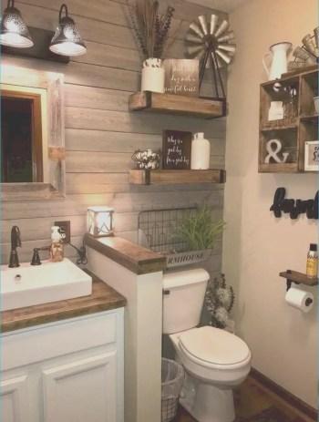 Gorgeous farmhouse bathroom ideas with rustic designs lovely beautiful rustic bathroom decor ideas 47