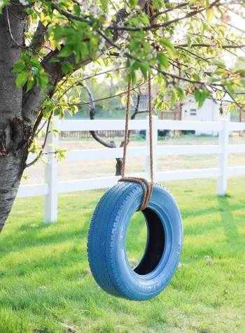 Easy-tire-swing