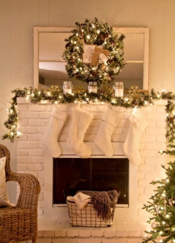 10-a-garland-and-a-wreath-with-lights-cozy-white-stockings
