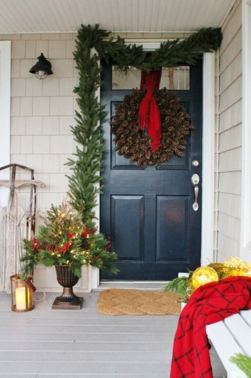 2 beautiful-christmas-porch-ideas-woodland-inspired-front-porch-by-city-farmhouse