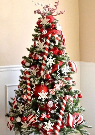 2 a-bright-and-chic-christmas-tree-with-candy-canes-red-ornaments-snowflakes-twigs-and-berries-is-amazing