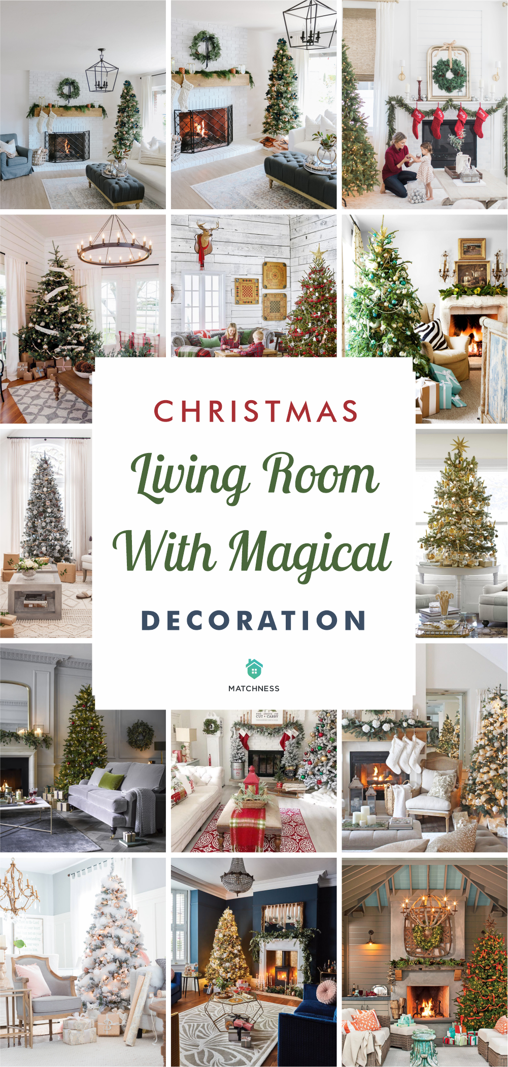 65 christmas living room with magical decoration5
