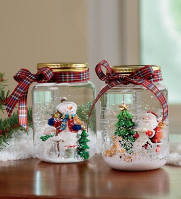 Christmas-mason-jars-diy-decor-ideas