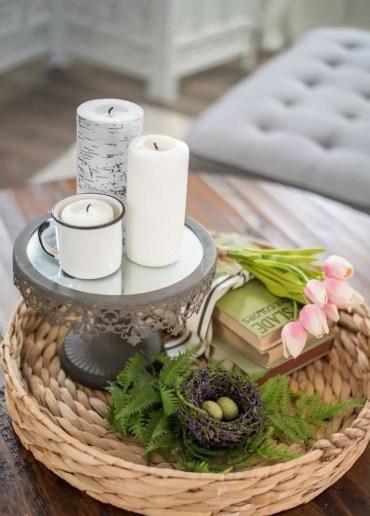 Coffee-table-arrangement