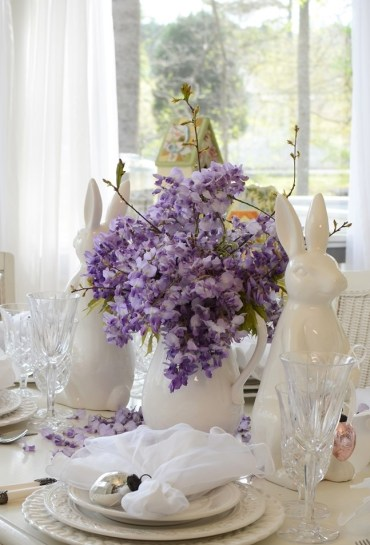 Easter-spring-table-setting-tablescape-with-white-bunny-rabbit-and-wisteria-centerpiece-2_wm