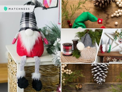 Gnome ornaments for your christmas decoration