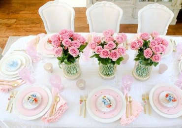 Pink-easter-table-decor
