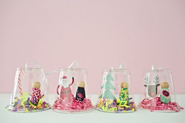Plastic-cup-snow-globe-ornaments