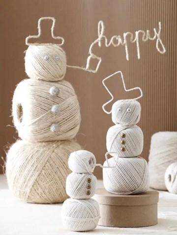 Christmas-snowman-yarn-crafts