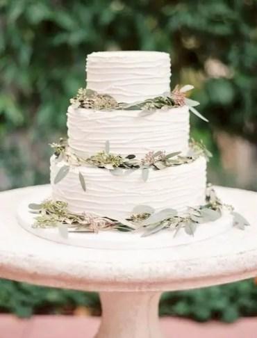 Eucalyptus-wedding-cake