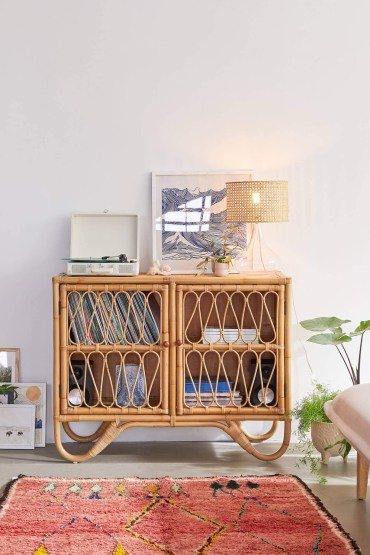 Melody rattan storage cabinet - 3