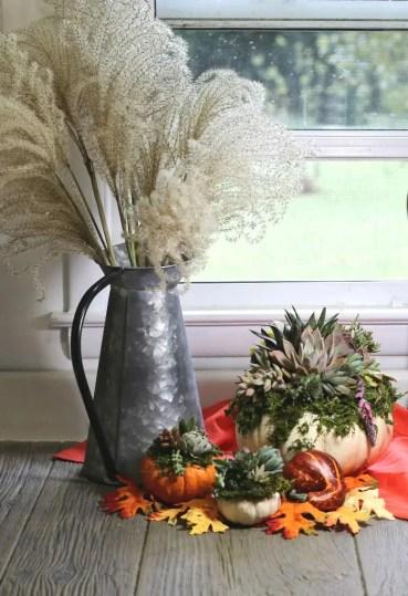 Succulents+planter+arrangement+for+the+fall