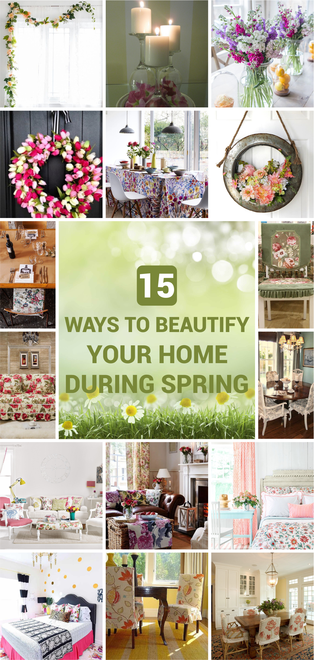 15 ways to beautify your home during spring 1