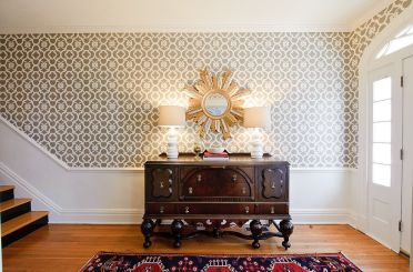 3-custom-stencil-made-by-royal-design-stencils-replaces-wallpaper-in-this-spacious-foyer