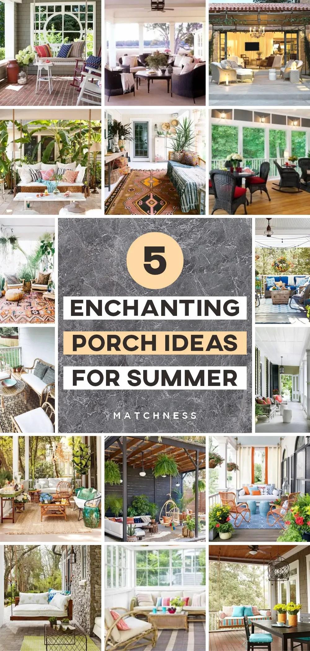 5 enchanting porch ideas for summer 1