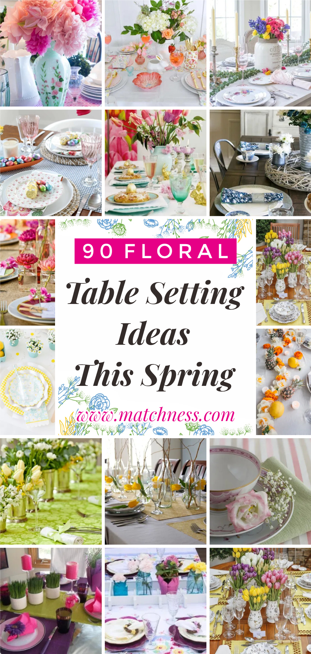 90 floral table setting ideas this spring1
